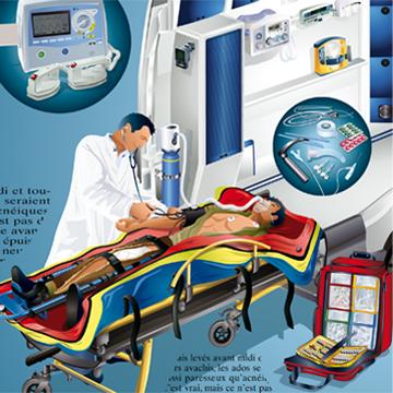 Illustrations techniques en médecine